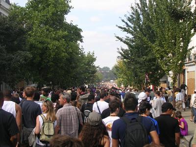 people crowd carnival london