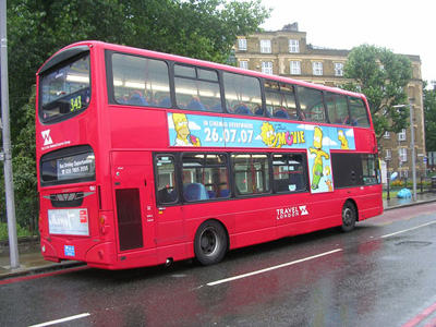 Red bus London