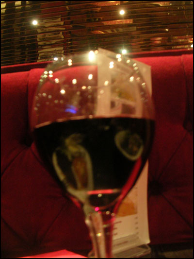 red wine in london