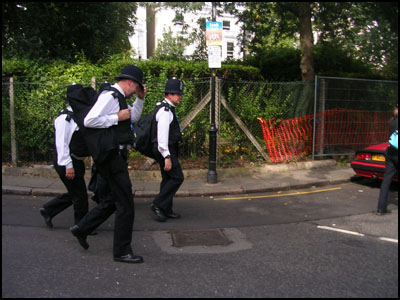 bobbies patrol London