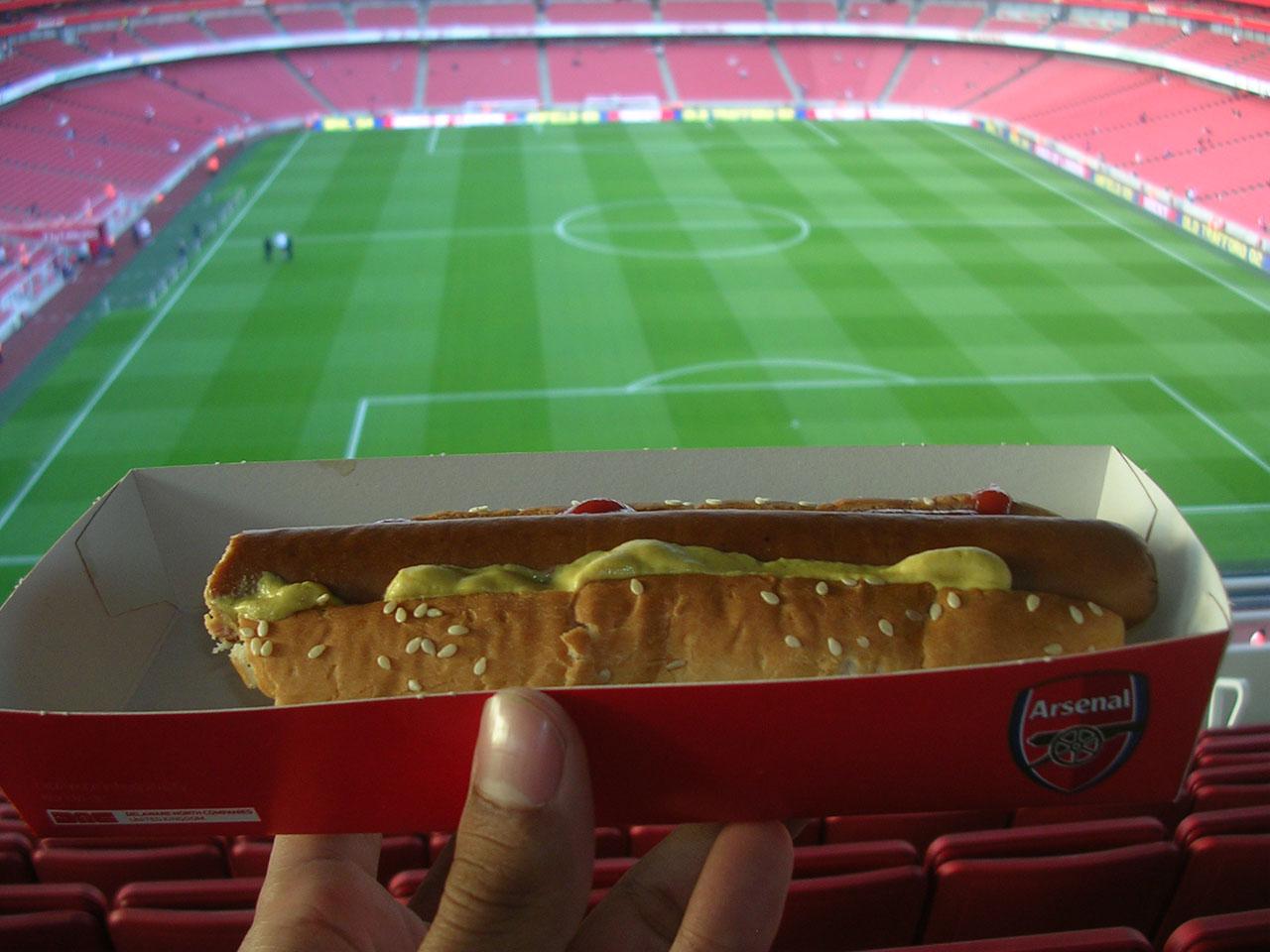 junk food london football